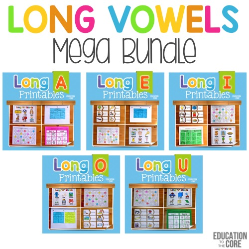 Long Vowel Mega Bundle