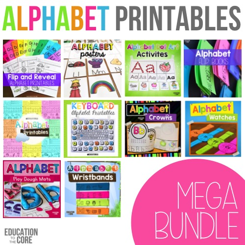 Alphabet Printables Phonics Activities