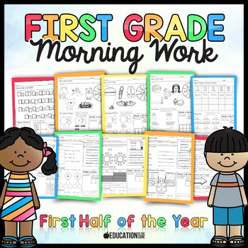 First Grade Morning Work: Quarter 1 and 2