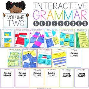 Grammar Interactive Notebook Volume 2