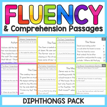 Phonics Based Fluency And Comprehension Passages