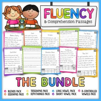 Phonics-Based Fluency and Comprehension Passages
