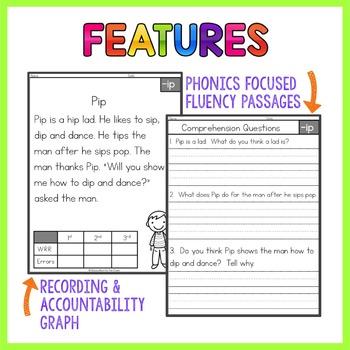 Short Vowels Fluency Passages