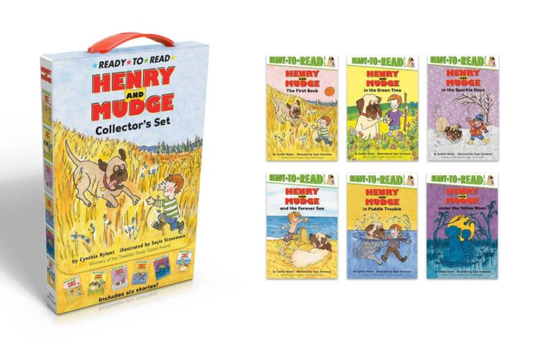 Henry and Mudge Series by Cynthia Rylant : Best Chapter Books for First Graders
