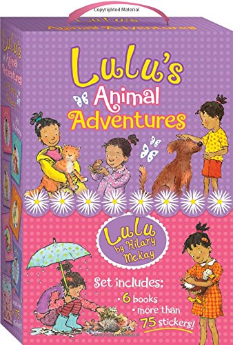 Lulu Animal Adventures by Hillary McKay : Best Chapter Books for First Graders