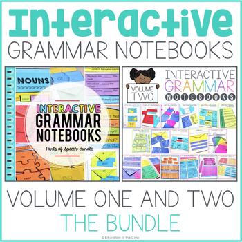 Interactive Grammar Notebook - Volume 1 and 2 Bundle