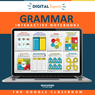 Interactive Grammar Notebook Mega Bundle