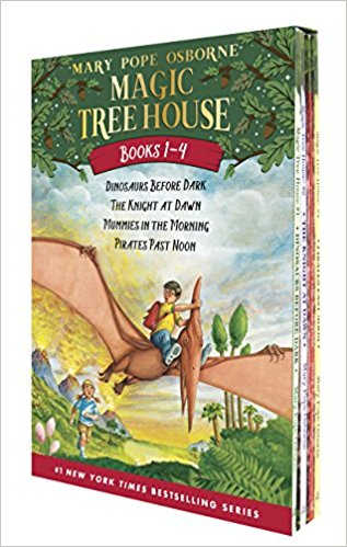 Magic Tree House by Mary Pope Osborne : Best Chapter Books for First Graders
