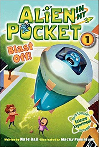 Alien in My Pocket Series by Nate Ball : Best Chapter Books for First Graders