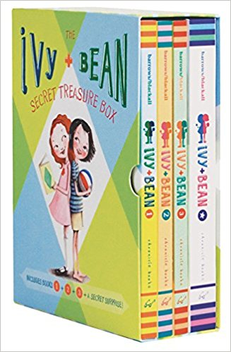 Ivy and Bean Series by Annie Barrows : Best Chapter Books for First Graders