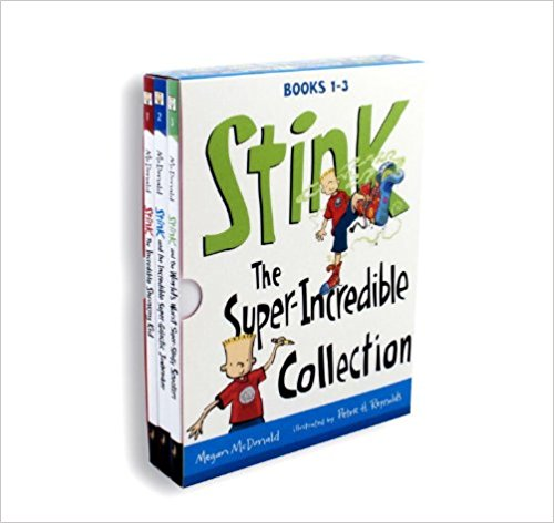 Stink Series by Megan McDonald : Best Chapter Books for First Graders