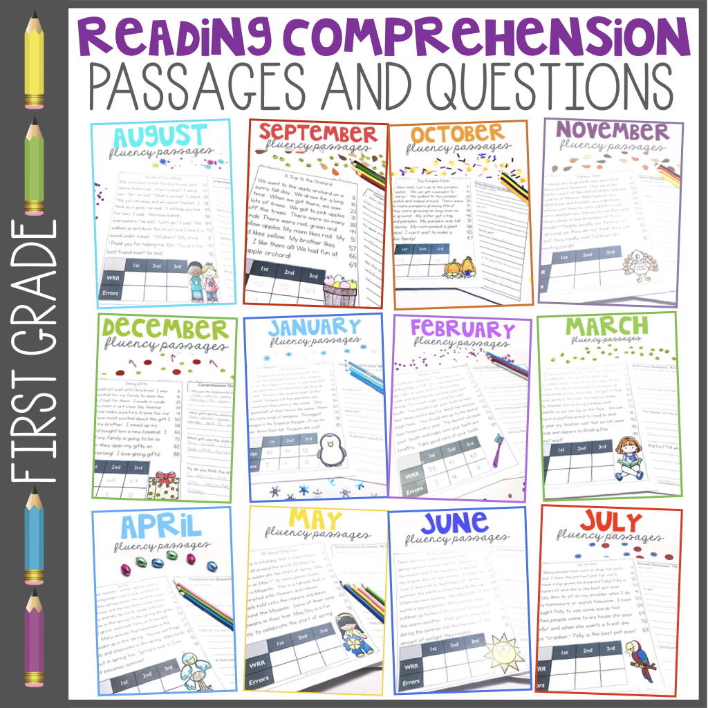 1st Grade Fluency Passages