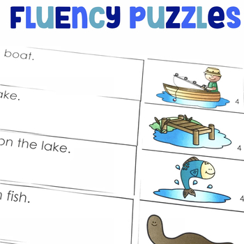 Students will read with sufficient accuracy and fluency to match the sentences with the pictures to make a story.