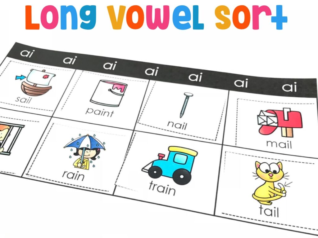 Long Vowel Sort