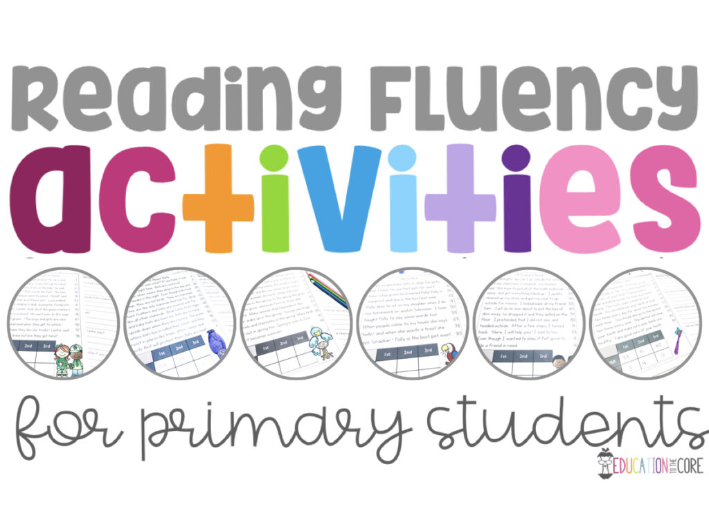 Reading Fluency Activities for Primary Students
