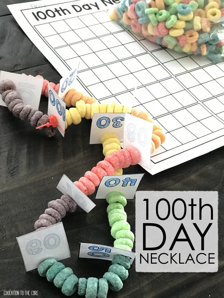 100th Day Necklace