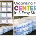 Organizing Your Centers in 3 Easy Steps
