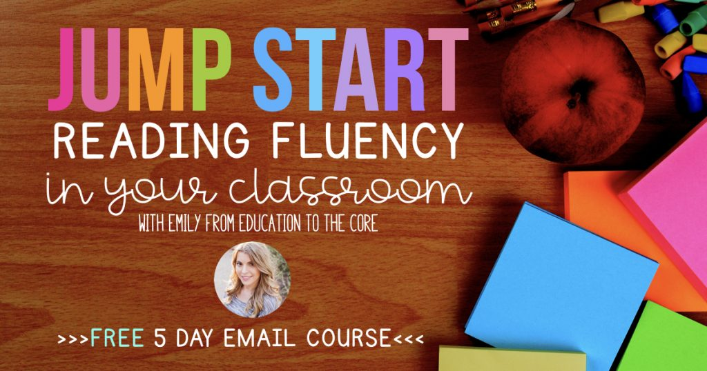 Jump Start Reading Fluency in Your Classroom