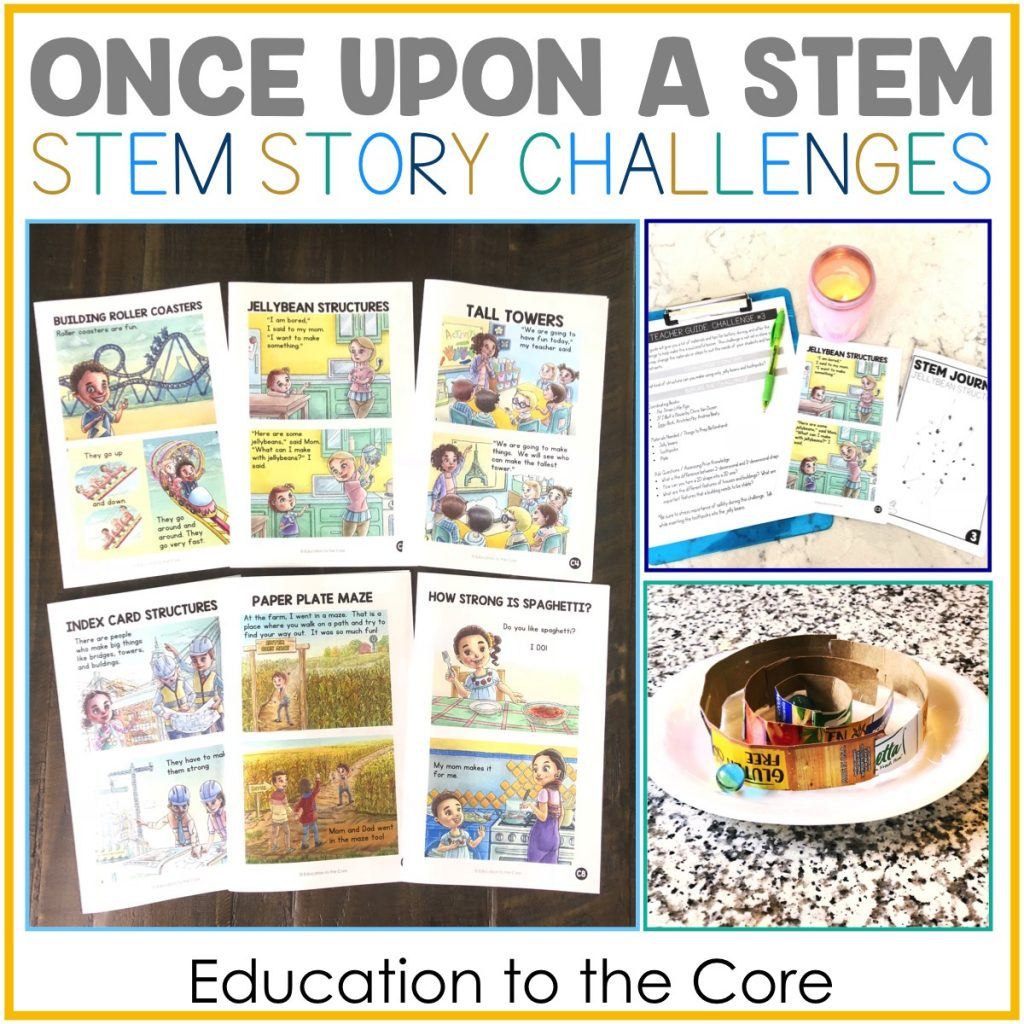 Once Upon a Stem: Stem Story Challenges