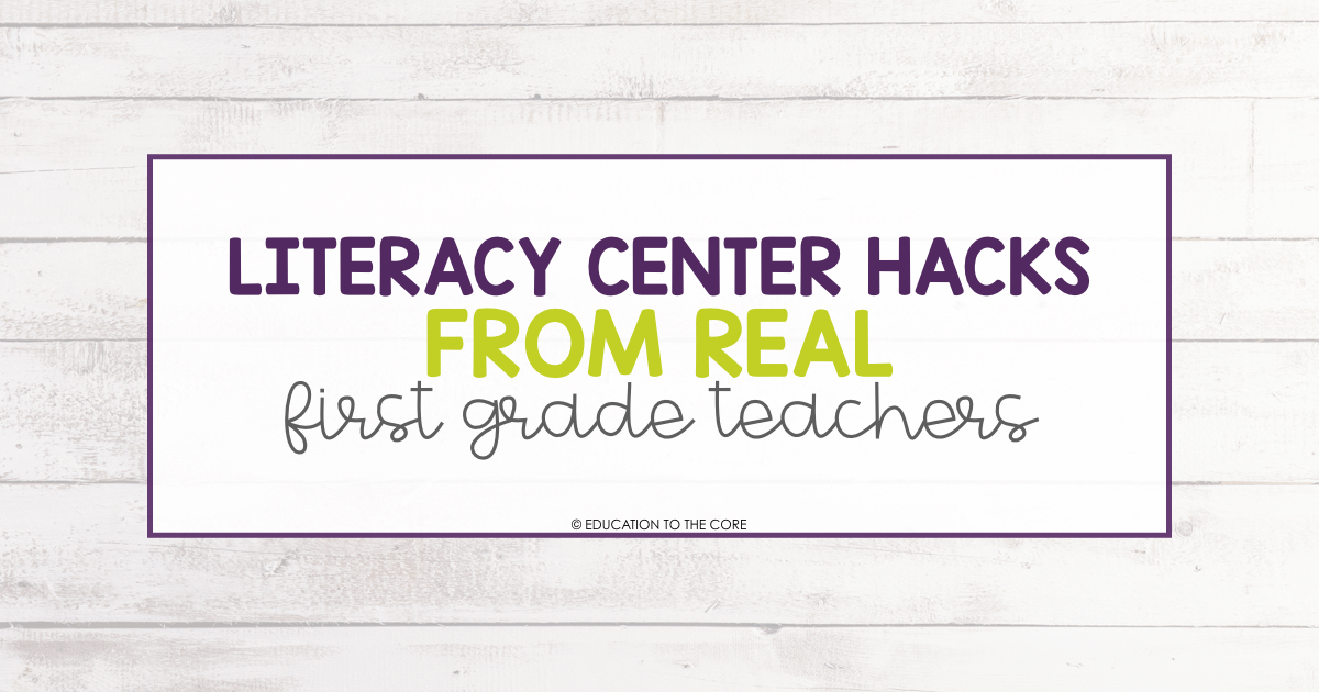 elementary teacher blogs education to the core