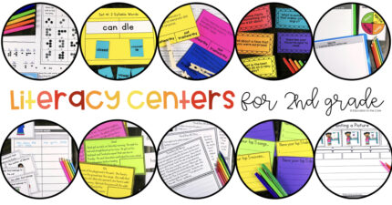 This comprehensive resource includes 120 2nd Grade Literacy Centers for the entire YEAR!