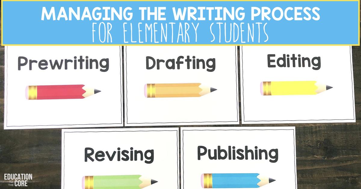 teaching the writing process high school