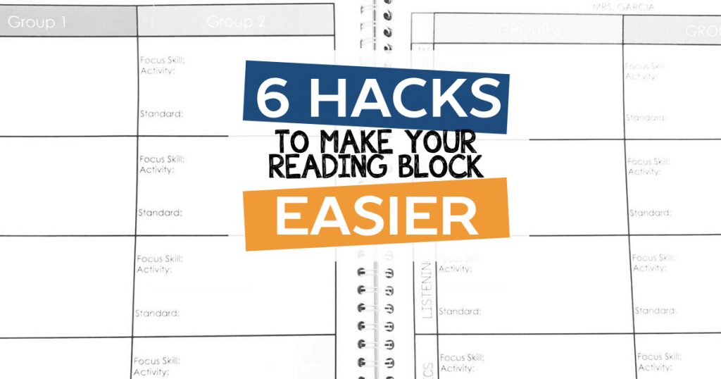 6 Hacks to Make Your Reading Block Easier