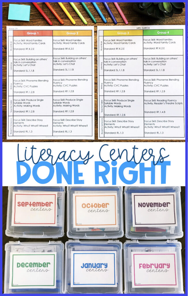 So many teachers struggle with managing centers in so many different ways. Finding quality literacy centers and implementing them should not be this difficult. We want to help you with that!