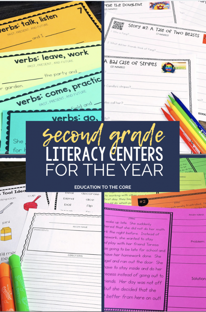 Here is your May lineup for your 2nd grade centers for the year! You will find a variety of engaging reading, writing, language, listening and speaking, and reference skills activities!