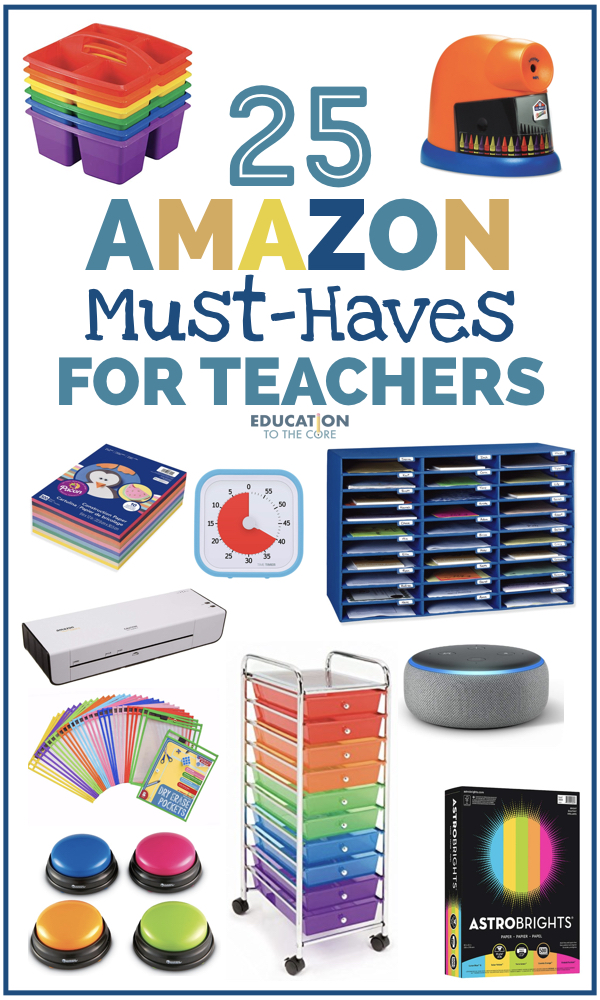 25 Amazon Must-Haves for Teachers
