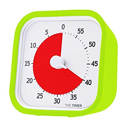 2. Time Timer, Lime Green