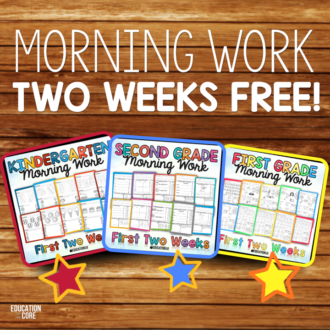Morning Work: 26 Practical Ideas and Routines | Education to