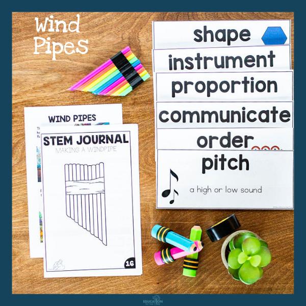 Wind Pipe STEM Activity