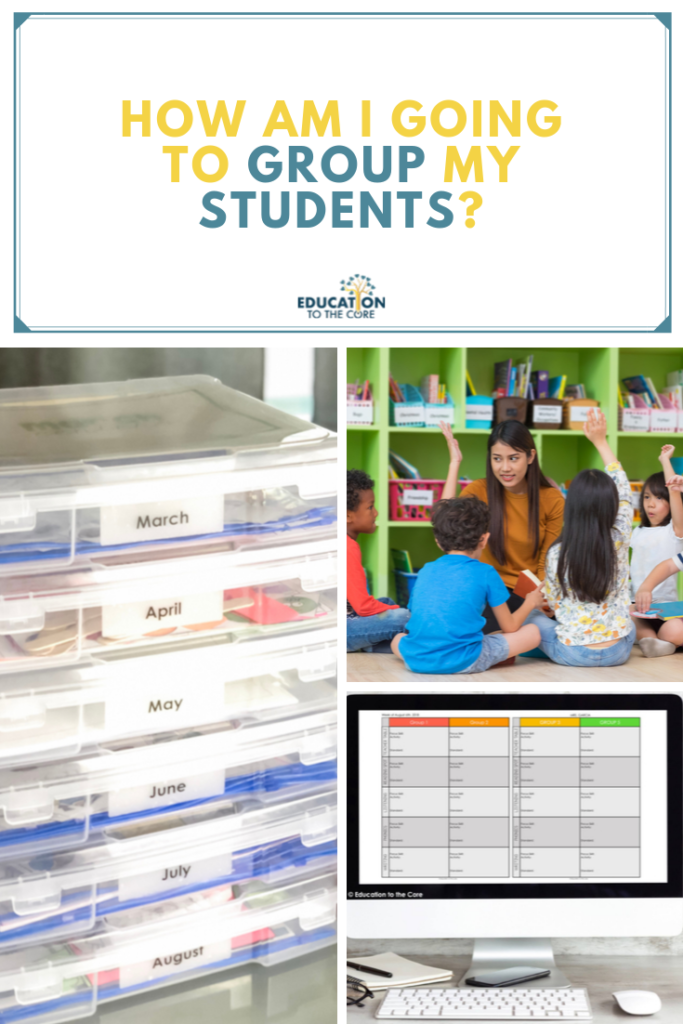 Implementing Literacy Centers - How Am I Going to Group my Students?