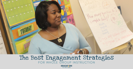 The BEST Whole Group Engagement Strategies