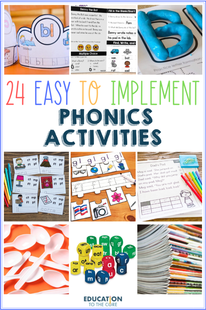 24 Easy-to-Implement Phonics Activities for your Young Learners