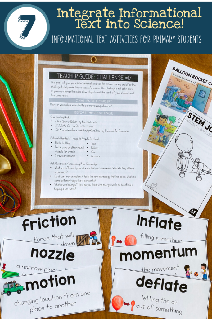 Integrate Informational Texts into Science and STEM