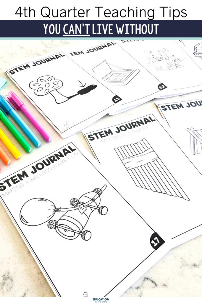 4th Quarter STEM student journals