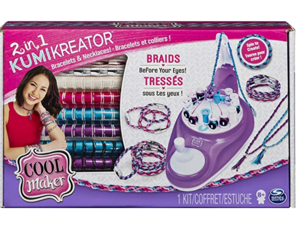 KumiKreator kit to make necklaces and bracelets