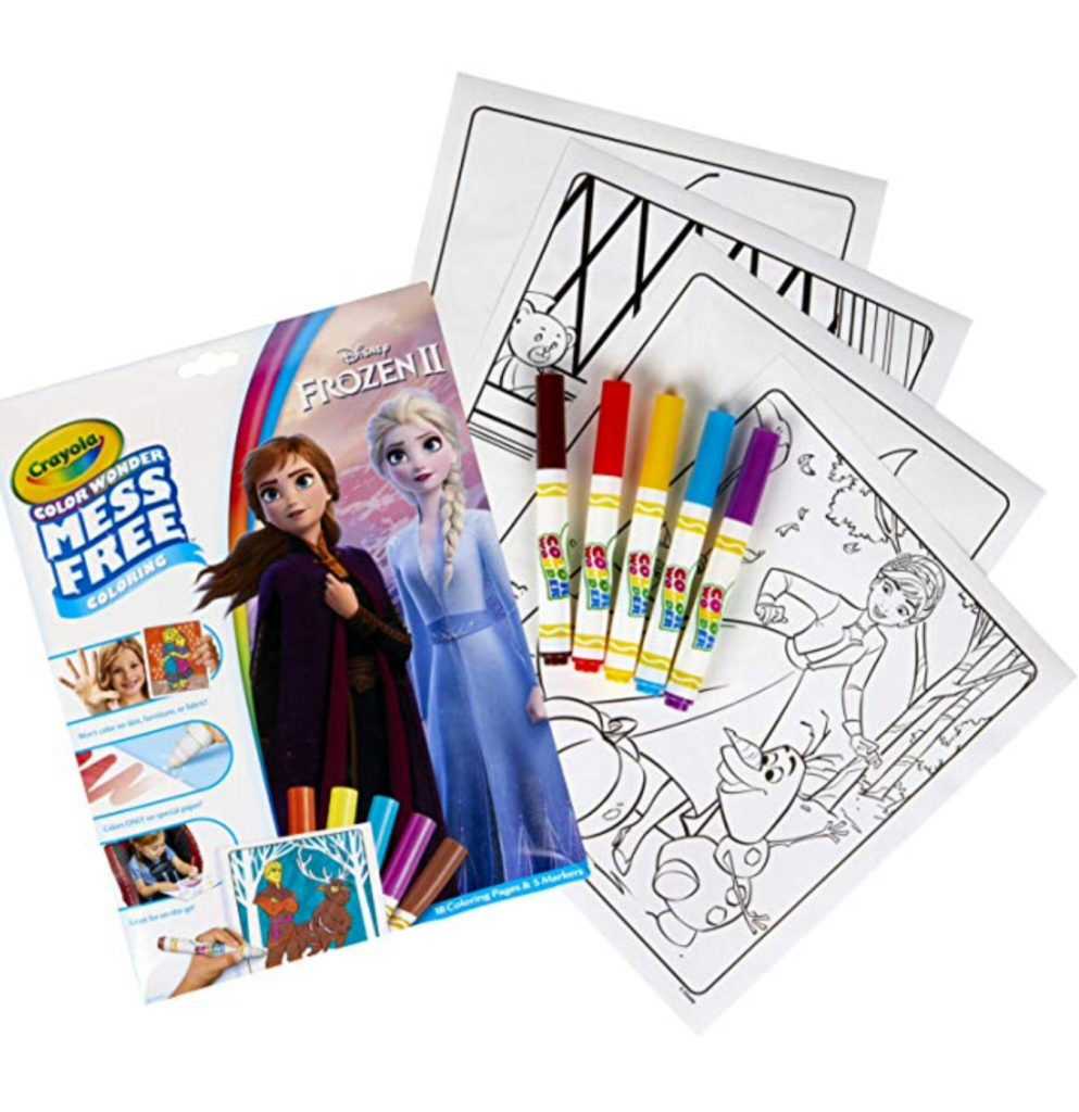 Frozen 2 color wonder kit for kids