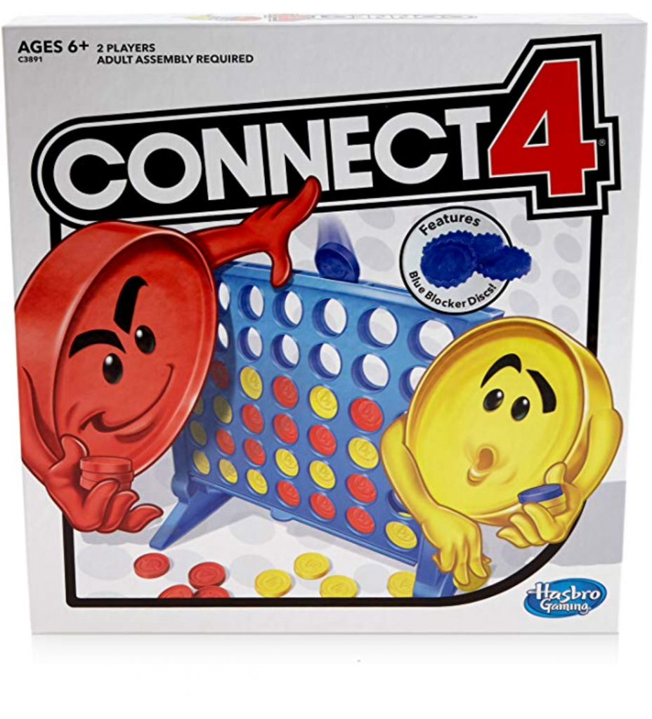 Connect 4 board game box