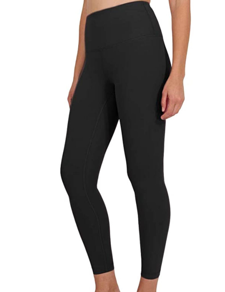 These are the best solid black leggings ever!  (They also have other colors.). I just stocked up for the summer.