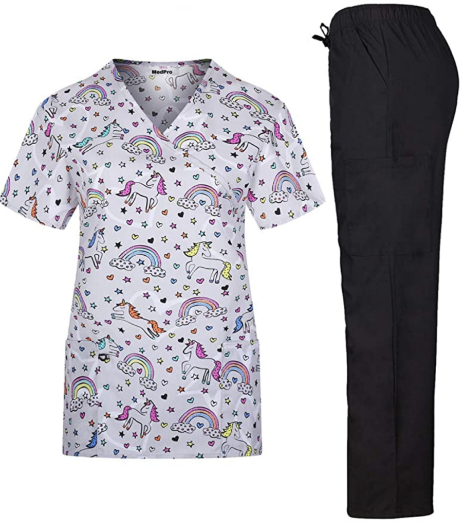scrubs to wear to school