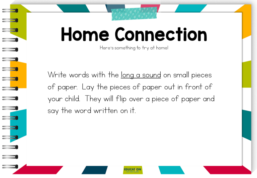 image of home connection suggested activity