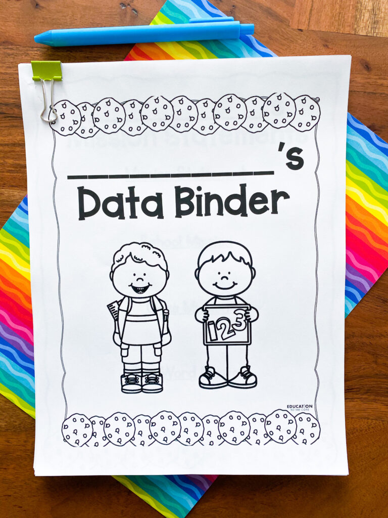 data binder cover