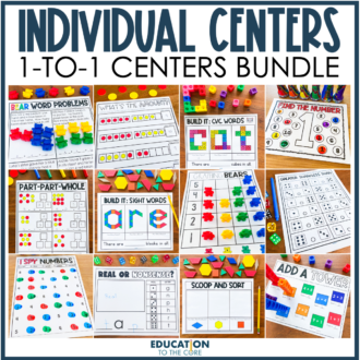 1:1 Centers for Individual Use BUNDLE