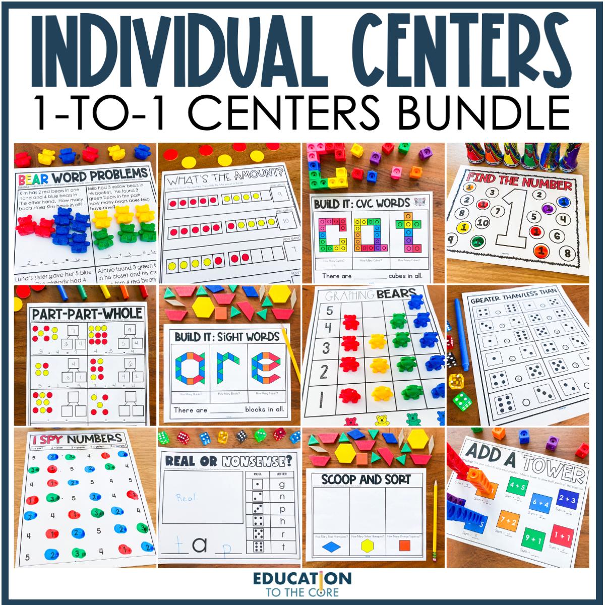 Individual Centers Bundle