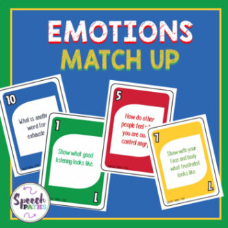 a game for older students to understand and identify emotions