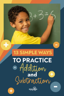 13 Simple Ways to Practice Addition and Subtraction