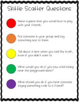 play a game to help your students discuss ways to show fairness
